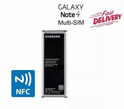 AU18.98 • Buy Samsung Galaxy Note 4 Duos Battery 3000mAh N9100 N9100G EB-BN916BBC