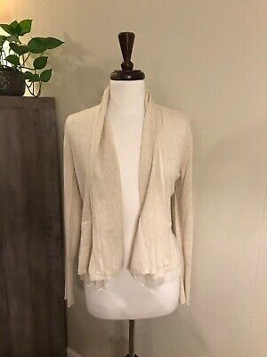$ CDN32.59 • Buy Anthropologie Angel Of The North First Position Cardigan In Cream Size M
