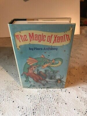 Rare🔶 The Magic Of Xanth Hardback By Piers Anthony • 9.99$