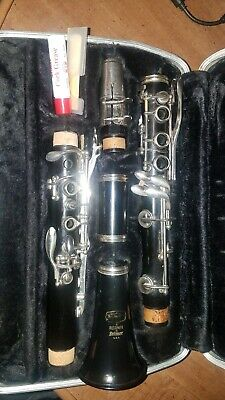 SELMER BUNDY Bb CLARINET JUST PRO SERVICED With Case! Band Ready! Free Returns  • 109.99$