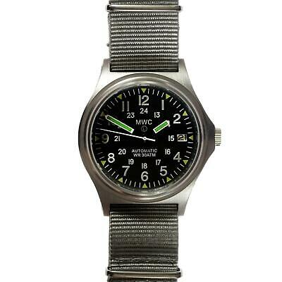 MWC G10 300m Ltd Edition Brushed Steel Automatic Military Watch • 210£