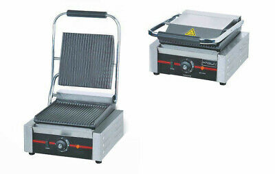 Commercial Electric Sandwich Maker,Toaster,Panini Grill, Single Contact 1.8kW • 128.99£