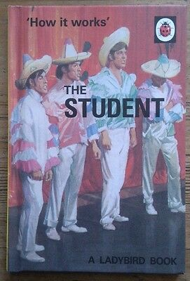 'How It Works' The Student A Ladybird Book Retro For Adults Very Funny Gift New • 6.99£