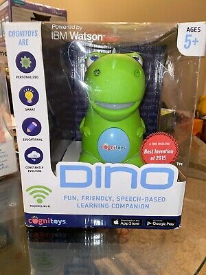 CogniToys Dino Smart Toy Social Interaction IBM Watson • 17.88£