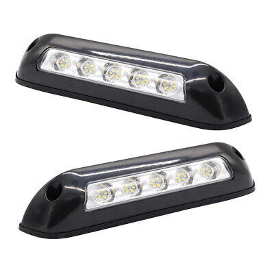 12V Waterproof Awning Lights RV LED Porch Lights Exterior 5 LEDs Light Boat • 33.75$