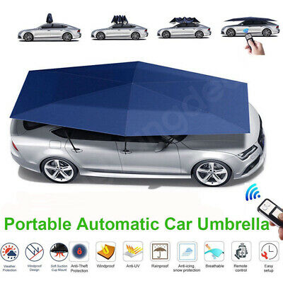 AU268 • Buy Car Sun Shade Umbrella Auto Remote Portable Tent Cover  Roof Anti-UV Water Proof