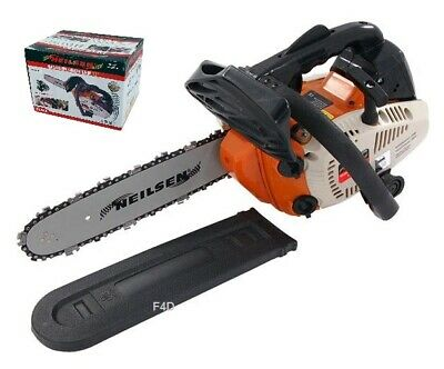 """View Details HEAVY DUTY 12"""" TOP HANDLE PETROL CHAINSAW 25.4cc LOPPING PRUNING LOGGING 800W • 79.95£"""