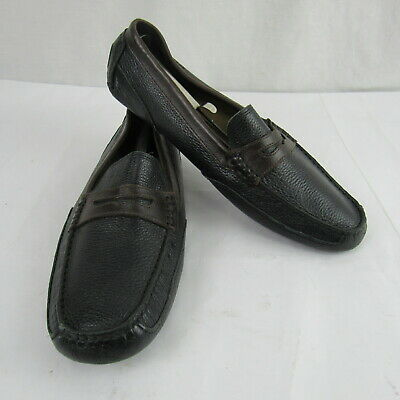Rockport Mens Leather Two Tone Driving Moc Loafers Shoes Size 11M • 28.62£