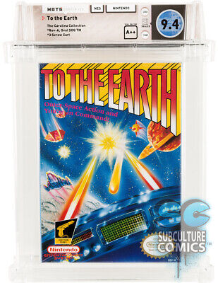 £2123.96 • Buy Nes - To The Earth - Factory Sealed - Carolina Collection - Wata 9.4 A++