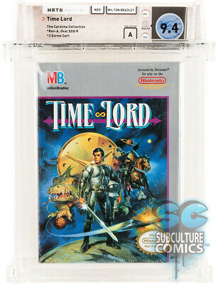 £2123.96 • Buy Nes - Time Lord - Factory Sealed - Carolina Collection - Wata 9.4 A - Mb 1990