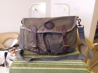 Vintage Duluth Pack Double Shell Bag #300 Green Canvas Hunting/Fishing • 65$