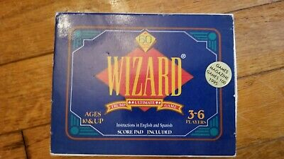 Wizard Card Game • 5$
