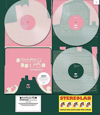 STEREOLAB Sound Dust CLEAR VINYL X 3 • 48.99£