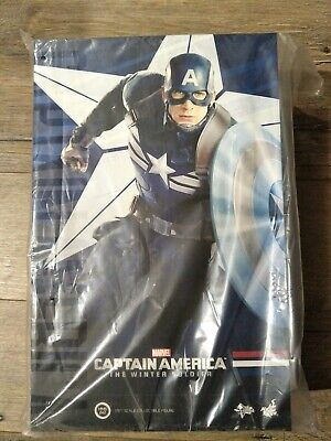 AU780 • Buy Hot Toys Mms 242 Captain America Stealth Strike Suit 1/6 Scale Figure