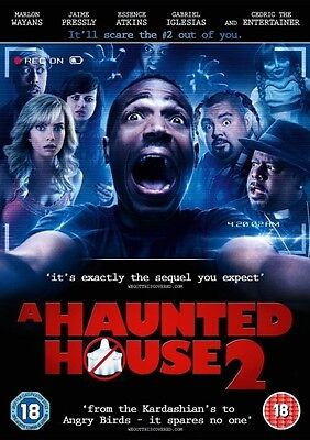 A Haunted House 2 (DVD) (NEW AND SEALED) (REGION 2) (FREE POST) • 2.40£