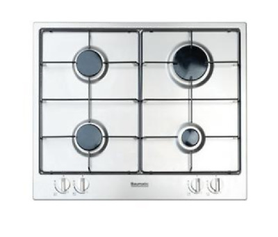 Baumatic LPG Stainless Steel Four Burner Gas Hob - BHG604.5SSL • 89£