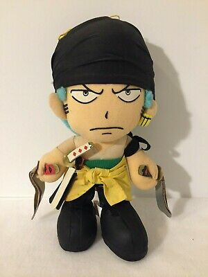 $6.93 • Buy Zoro From One Piece Plush Doll Anime Banpresto Official 2002 Made In China
