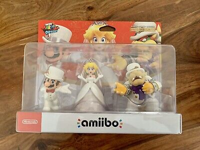 AU189 • Buy Amiibo Super Mario Odyssey Triple Pack - Limited Edition - Free Shipping