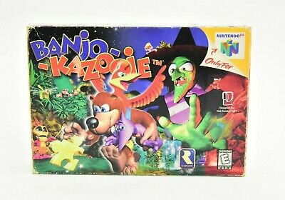 $ CDN149.99 • Buy Banjo Kazooie Nintendo 64 N64 Complete In Box Tested And Working