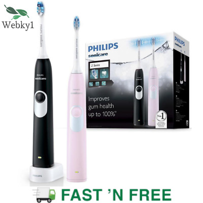 AU146.86 • Buy Philips Sonicare 2PK Rechargeable Electric Toothbrush| Diamond Clean Brush Head