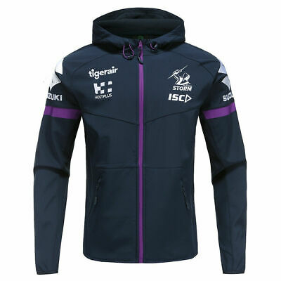 £47.66 • Buy Melbourne Storm NRL 2020 Players ISC Tech Pro Hoody Jacket Sizes S-5XL!