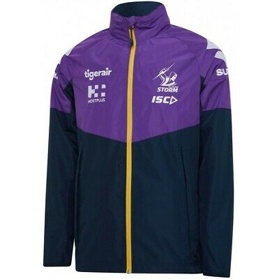 £63.56 • Buy Melbourne Storm NRL 2020 Players ISC Wet Weather Jacket Sizes S-5XL!