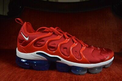 Mismatch Nike Vapormax Plus Usa Firecracker 924453 601 University Red White Blue • 109.25$