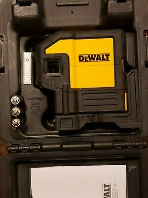 $134.99 • Buy Dewalt DW0851 Red Laser Self Leveling 5 Spot Beams And Horizontal Line W/ Case
