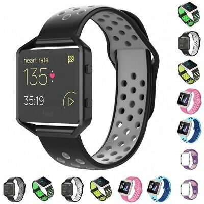 $ CDN7.90 • Buy For Fitbit Blaze Silicone Replacement WristBand Sport Wrist Strap Watch Band USA