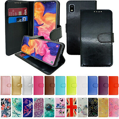 Case For Samsung Galaxy A10 A21S A41 A51 A71 Genuine Leather Wallet Phone Cover • 3.89£