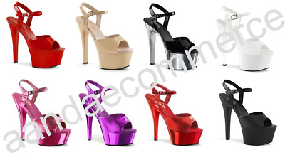Ladies Womens Platform High Heel Pole Dancing Lap Dancer Shoes Sizes 3-11 • 31.99£