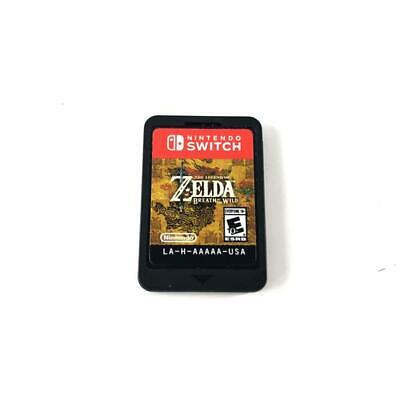 Legend Of Zelda: Breath Of The Wild (Nintendo Switch, 2017) GAME ONLY • 43.99$