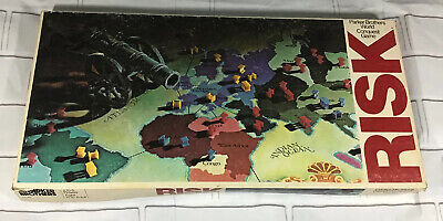 $13.99 • Buy Vintage RISK Board Game No. 44 Parker Brothers World Conquest Game 1975
