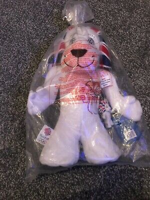 Team GB Pride The Lion Mascot Plush Toy Olympics Brand New Tagged With Keyring • 11.99£