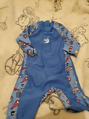 *Lovely Boys Splash Swimming Suit Age 9-12 Months*🙂 • 4.99£