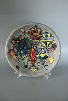 Moorcroft Pottery 27cm Balloons Plate By Jeanne McDougall • 195£