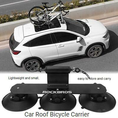 AU199.63 • Buy RockBros Bike Car Roof Rack Suction Rooftop Carrier Quick Installation Luggage