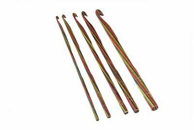 Knitpro Symfonie Wood Single Ended Crochet Hooks. • 4.75£