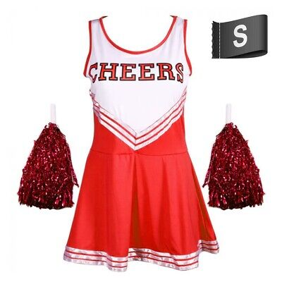 £10.62 • Buy FANCY DRESS COSTUME High School Cheerleader Musical Party Cosplay SIZE SMALL