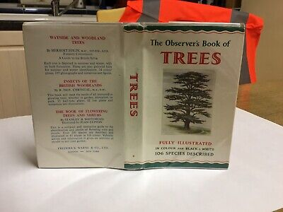 £12.99 • Buy Observers Book Of Trees 1964: VGC