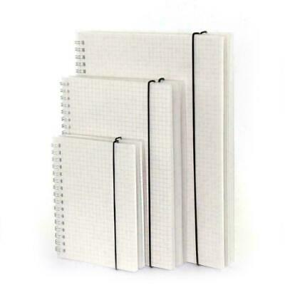 AU20.84 • Buy A5/A6/B5 Coil Notebook Spiral Notebooks With Elastic Diary Pages Band Grid P3B6
