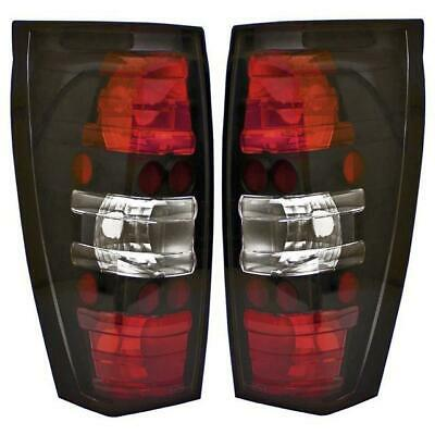 $203.06 • Buy IPCW 2002-2006 Cadillac Escalade EXT Bermuda Black Tail Lights Pair CWT-CE347CB