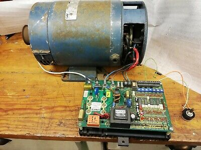 1.5KW DC SHUNT MOTOR 3000rpm + Variable Speed Control Unit 240v Lathe Project • 410£