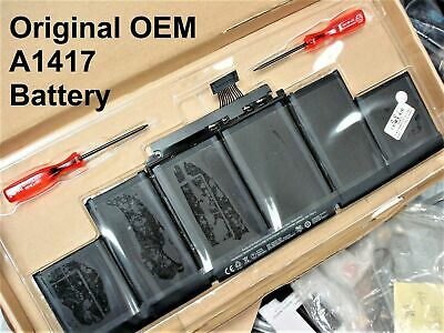 $52.75 • Buy NEW Genuine OEM Battery For MacBook Pro 15  Retina A1398 2012 Early 2013 A1417