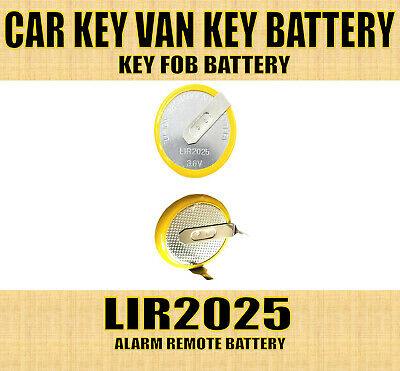 £3.75 • Buy LIR2025 3.6V Rechargeable Battery For Bmw 3 5 7 X3 X5 Series Car Key Remote Fob