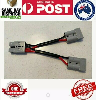 AU19.50 • Buy Genuine Anderson  Plug Y Double Adapter In 6mm Cable Trusted Aussie Seller
