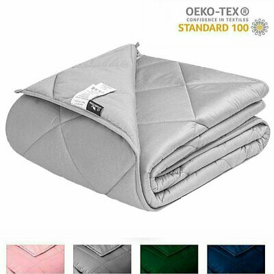 AU125.99 • Buy Heavy Gravity 7KG Weighted Blanket Adult For Anxiety Stress Insomnia 122cmX183cm
