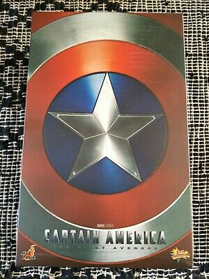 AU630 • Buy Hot Toys Captain America The First Avenger Mms156