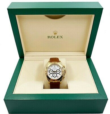 $ CDN23828.20 • Buy Rolex Daytona Cosmograph 16518 18K Yellow Gold Mint Condition Zenith Movement