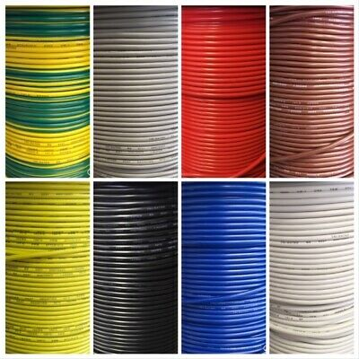 AU123.32 • Buy Tri Rated 4mm Automotive Auto Cable Wire